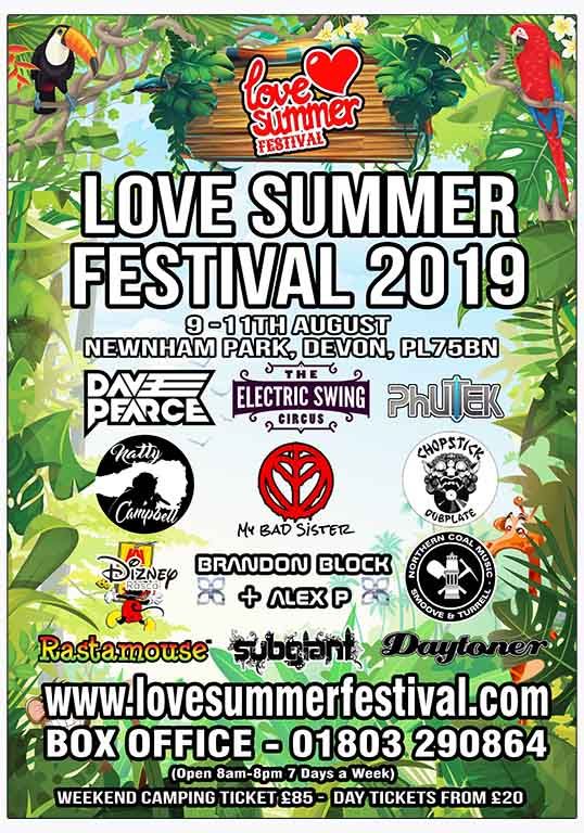 Love Summer Festival 2019 | Flyer