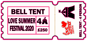 Love summer Festival | Ticket | Book Glamping