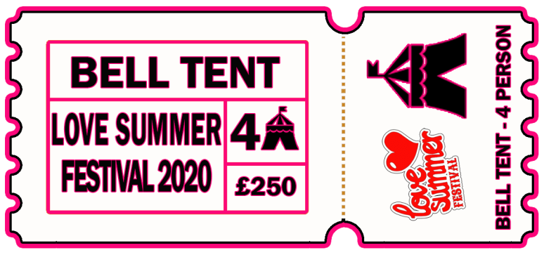 Love summer Festival | Ticket | Book Glamping