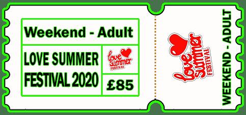 Love Summer Festival | Ticket | Adult | Weekend