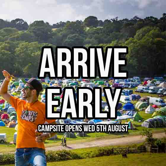 Festival | Camping | Arrive Early | Love Summer Festival | Book Here