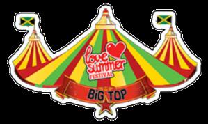 The Big Top   Logo   Festival Devon   Love Summer
