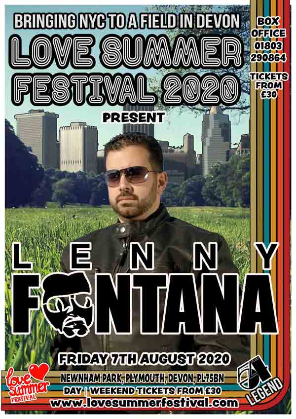 Lenny Fontana at Love Summer Festival 2020