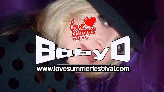 Baby D Festival appearance at Love Summer Festival Devon