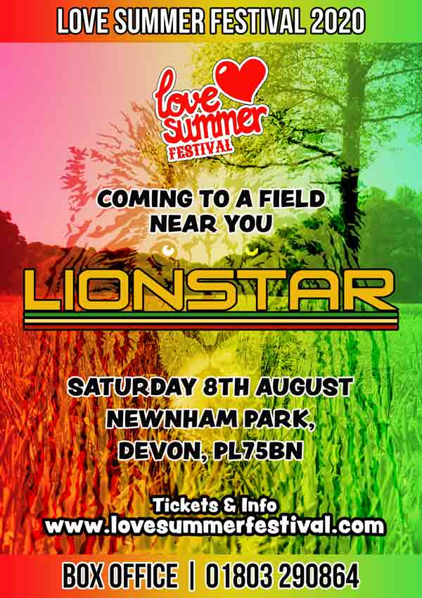 Lionstar | Reggae | Festival | 2020 | August | Devon