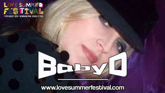 Baby D | Festival | Live | Devon | August | 2020 | Plymouth