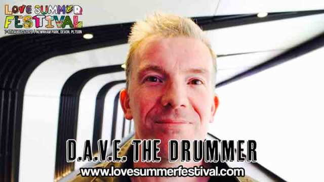 Dave The Drummer | Festival | Live | Devon | August | 2020 | Plymouth