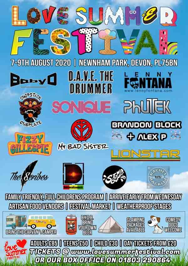 Love Summer Festival 2020 - Flyer