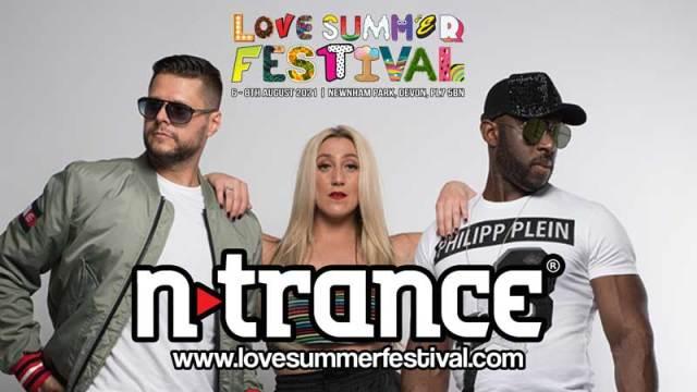 N-Trance | Festival | Love Summer Festival | 2021 | Image | Promo Shot | Logo