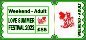 Weekend Earlybird Ticket 2022