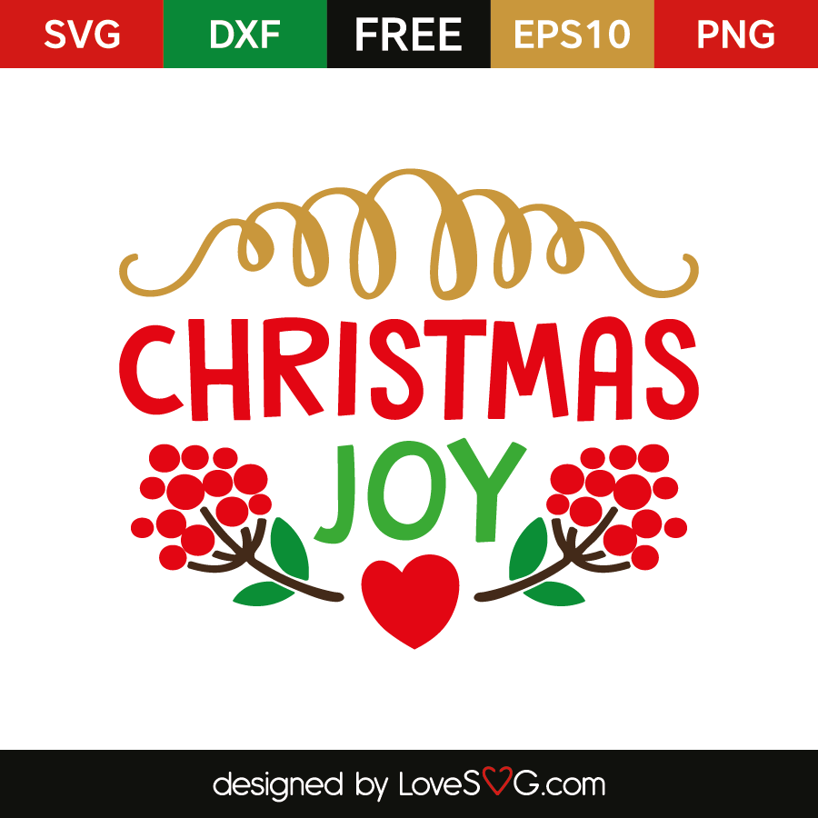 Download Christmas Joy | Lovesvg.com