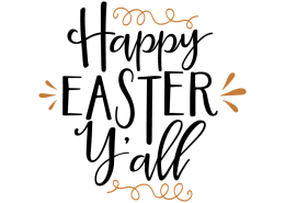 Free SVG cut file - Happy Easter Y'all
