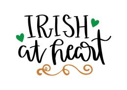 Free SVG cut file - Irish at Heart