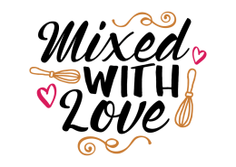 Free SVG cut file - Mixed with love