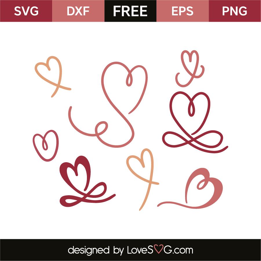 Download Hearts   Lovesvg.com
