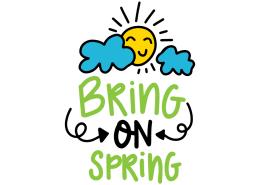 Bring on spring