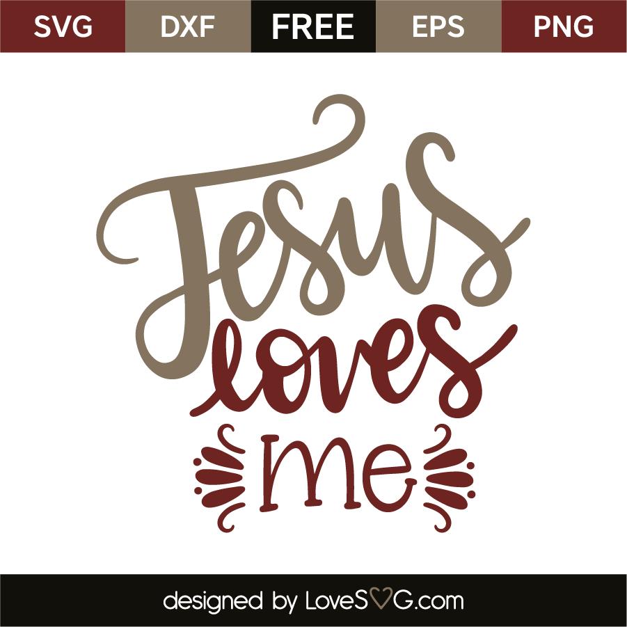 Download Jesus loves me | Lovesvg.com