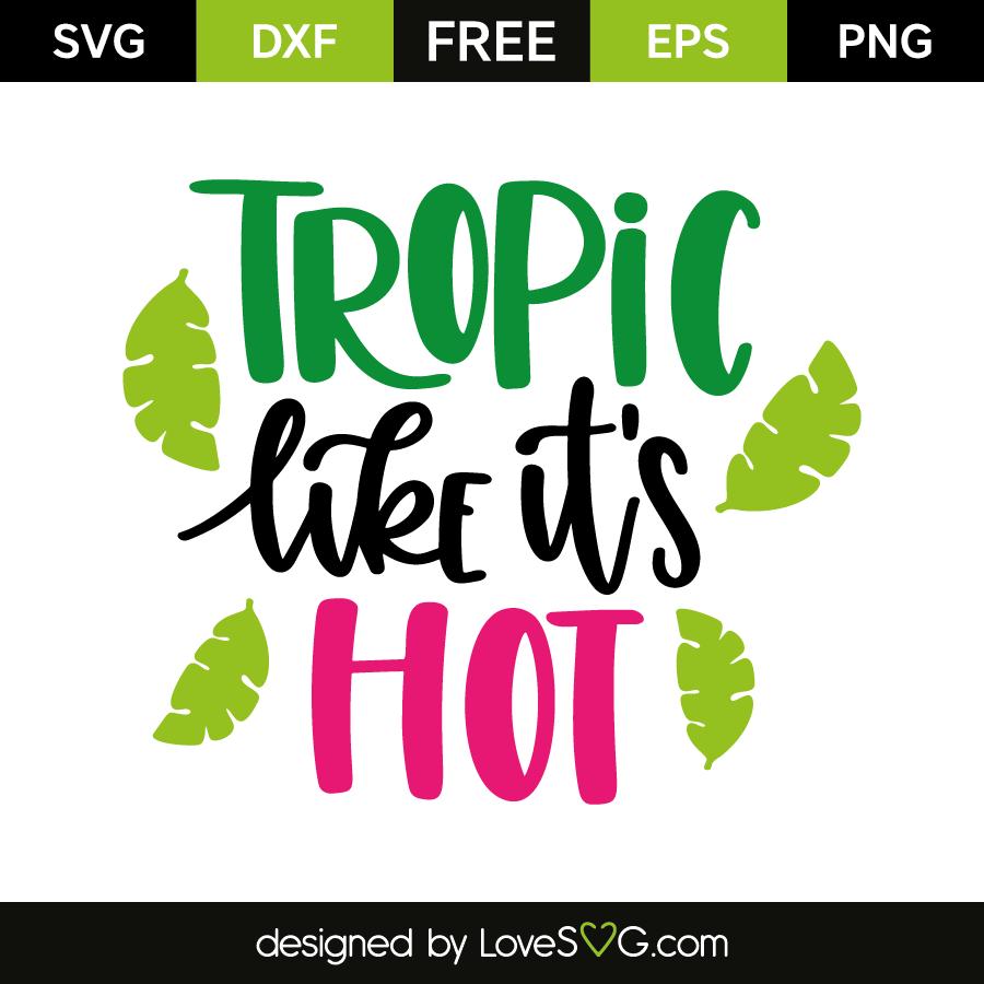 Tropic like it's hot