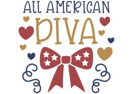 All American diva