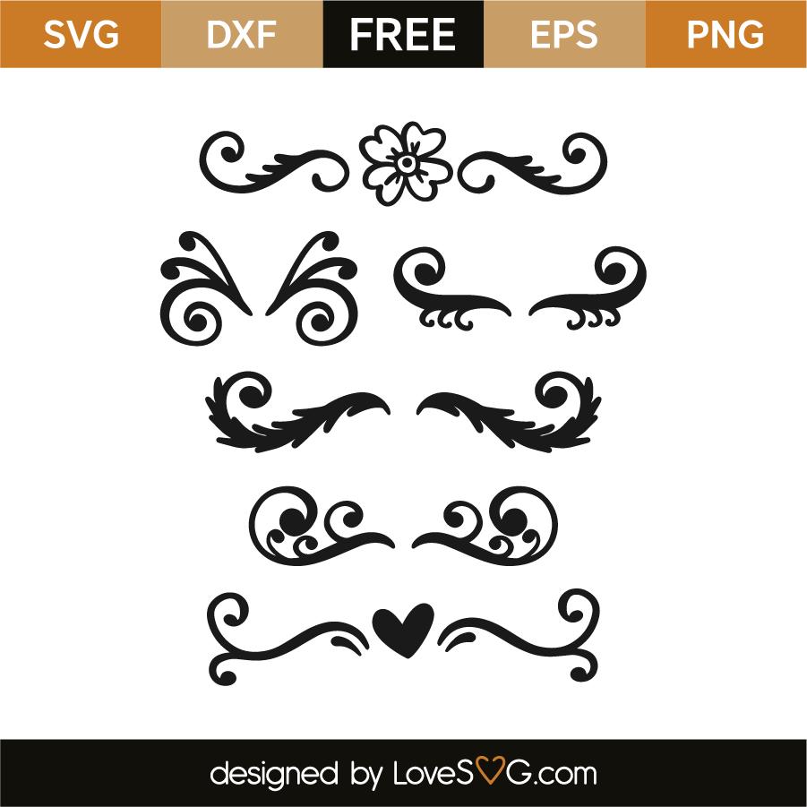 Download Border elements | Lovesvg.com