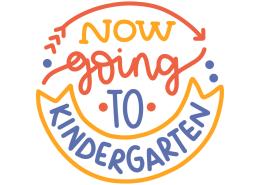 Now going to kindergarten