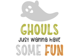 Ghouls just wanna have some fun