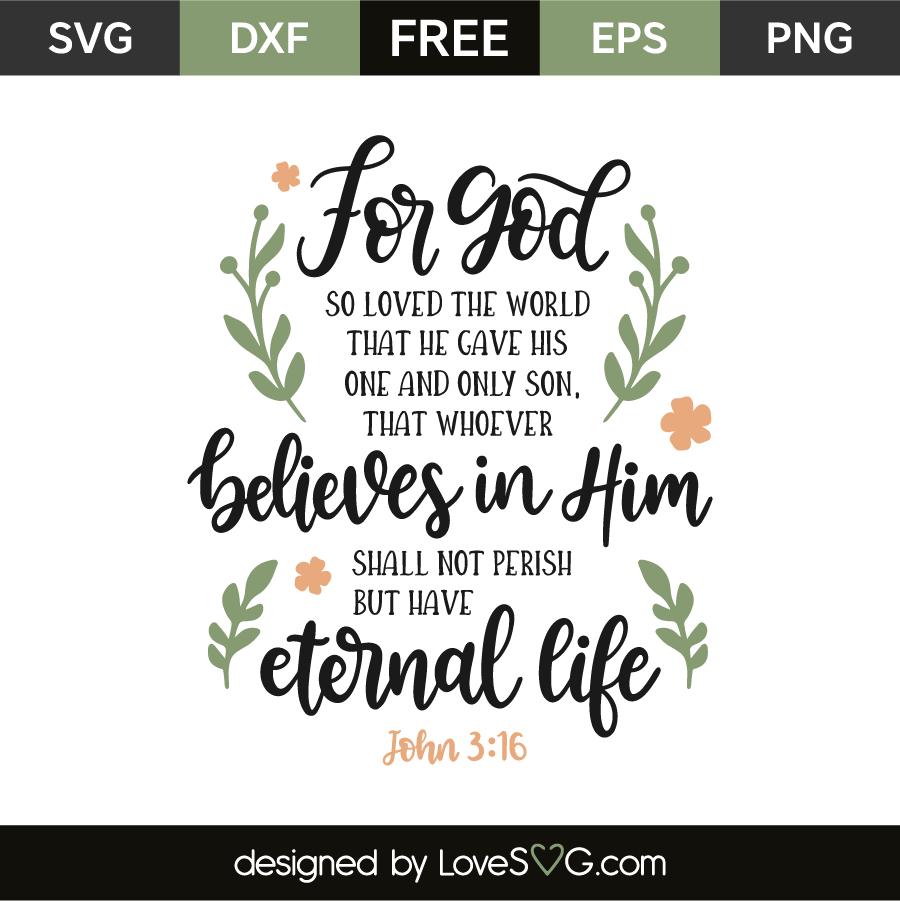 Download John 3:16 - Lovesvg.com
