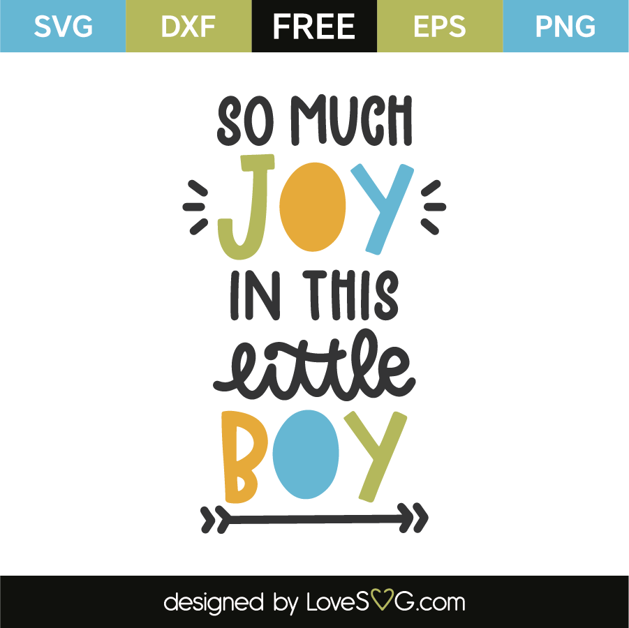 Download So Much Joy In This Little Boy - Lovesvg.com
