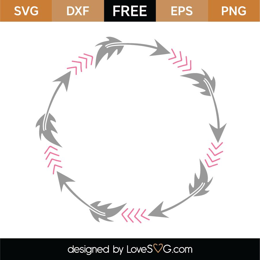 Download Free Monogram Frame SVG Cut File - Lovesvg.com