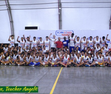 Teacher Sports Fest:  Jr. NBA and Jr. WNBA Philippines' National Training Camp for 2015