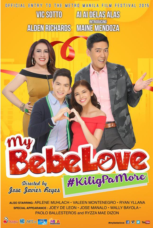 "Teacher's Movie Picks: Kilig this Christmas at #AlDub's ""My Bebe Love: Kilig Pa More!"""