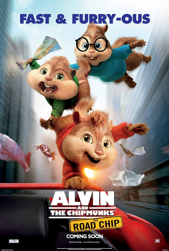 "Teacher Movie Picks: Good Chip-Vibes in ""Alvin and the Chipmunks 4: The Road-Chip"""