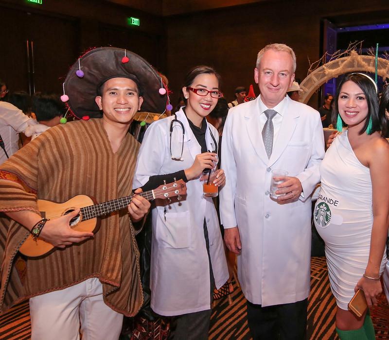 Teacher's Insights:  Marriott Manila Opened the Global Customer Appreciation Week with an All-white Halloween Gala
