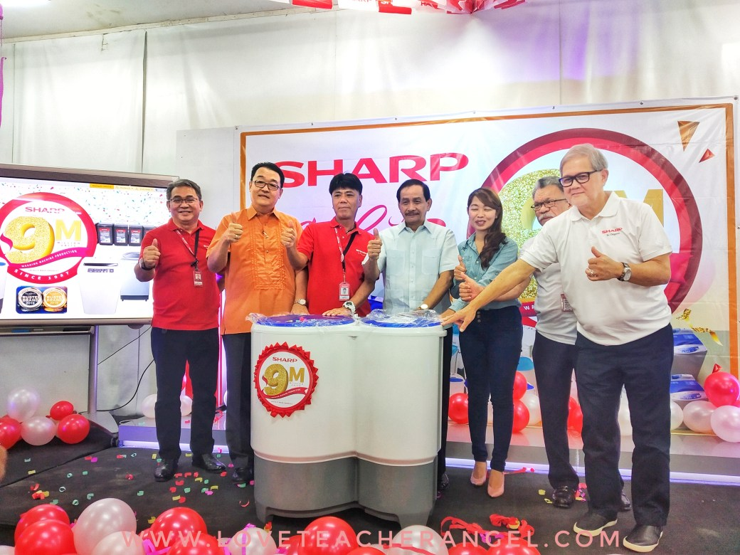 Teacher Insights: Millions of Love for Sharp PH 9 Millionth Washing Machine Production
