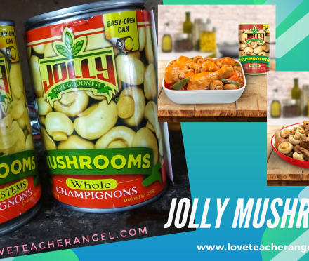 Teacher Eats: Make Daily Ulam Mush-delicious with Jolly Mushroom