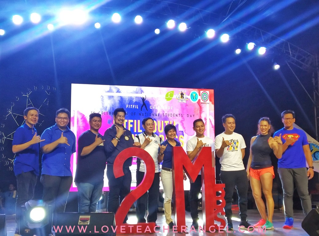 Teacher Insights: NOVUHAIR Supports FITFIL and National Youth Commisision  FitFil Youth Against Drugs
