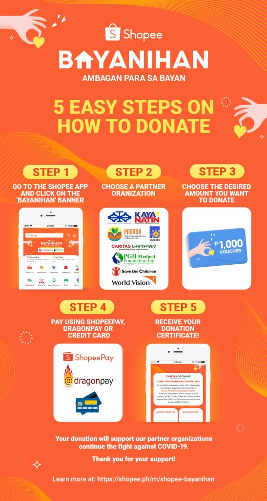 Teacher Insights: Shopee launches Shopee Bayanihan to support Medical front liners and Filipinos in need