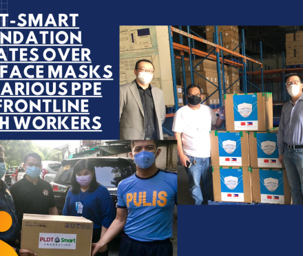 Teacher Insights: PLDT-Smart Foundation donates over 50,000 face masks and various PPE for frontline health workers