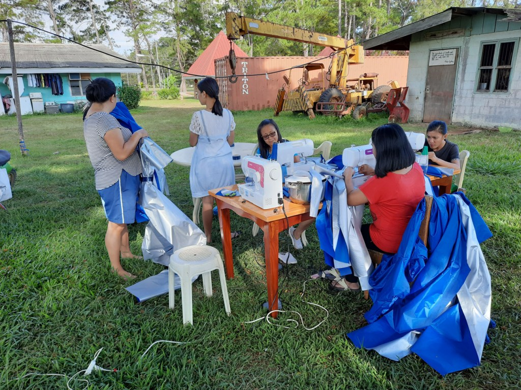 Teacher Insights:  Resourceful Filipino Volunteer uses Brother Sewing Machines to Produce PPEs for Frontliners