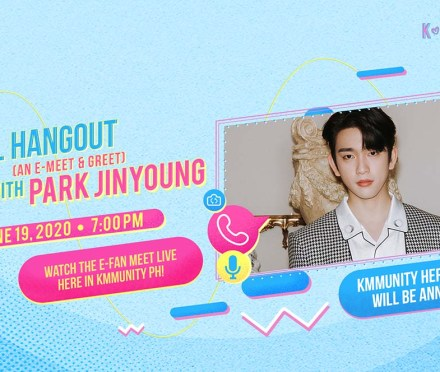 GOT7's Park Jin Young Joins Globe Kmmunity PH For Virtual Hangout