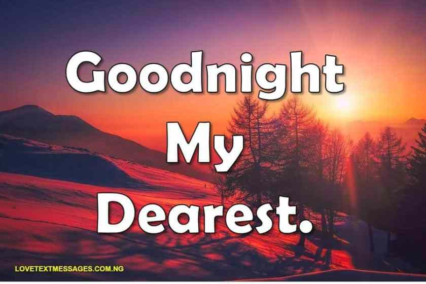 special good night wishes for him or her love text messages