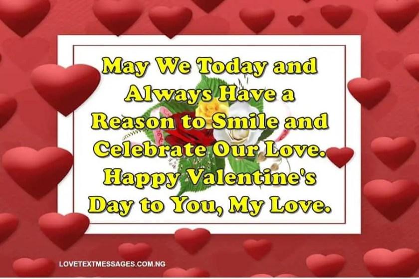 Valentine's Day Message to Boyfriend