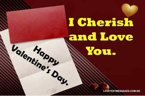 Valentines Message for Him