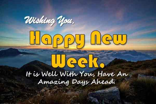 Inspirational Happy New Week Quotes for Everyone