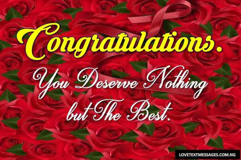 110 congratulations message for all occasions love text messages
