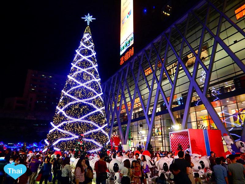 Christmas Spot In Bangkok Holiday Season Is Here Love