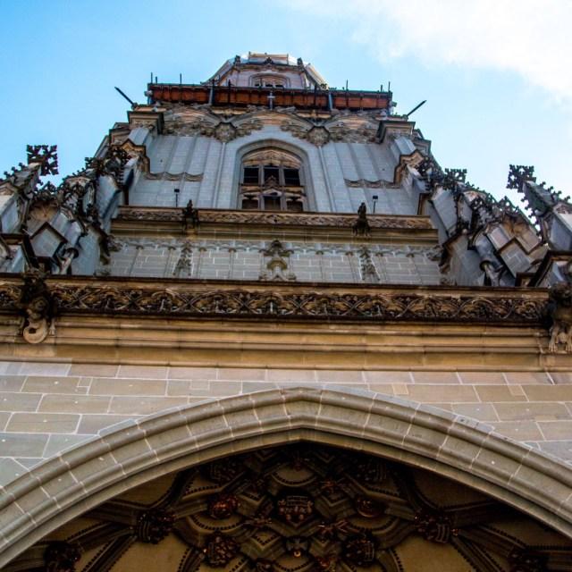 De ingang van de Münster Kathedraal