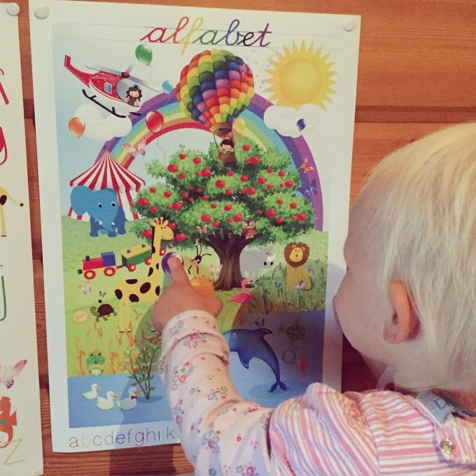 Op zaterdag ontdekte Liza deze poster. Een ontdekposter! Binnenkort komt hij beschikbaar hier als download.