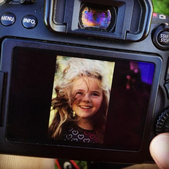 En uiteindelijk maakte ik een hoop toffe foto's van Eva.
