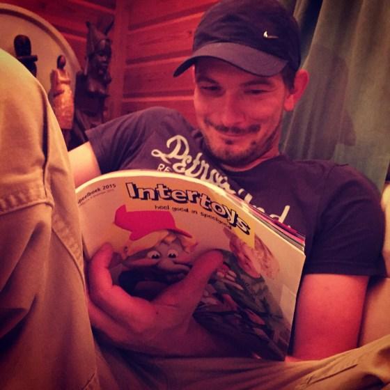 Ook het intertoys boek voor floris!
